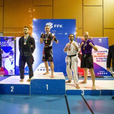 Blaise Langlade vice champion de France plein contact le 16 novembre 2019